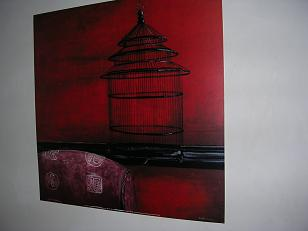 My first picture: The Cage, by Ibéria Lebel