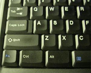 Part of my Thinkpad keyboard.