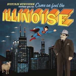 Cover of Sufjan Stevens' Illinois