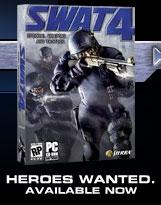 SWAT 4 box cover
