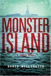 Cover of Monster Island.