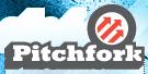 Pitchfork logo.