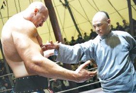 Huo Yuanjia versus Hercules O'Brien.