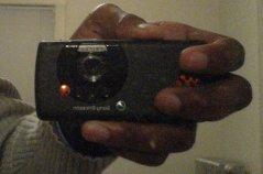 The Sony Ericsson W810i.
