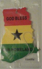 Ghana air freshener.