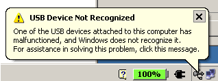My Bluetooth device disconnecting from my computer in Windows XP.