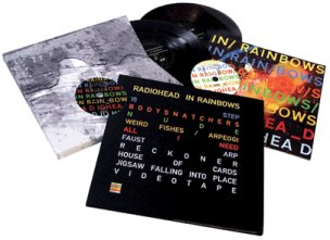 The more expensive analog edition of Radiohead's In Rainbows.