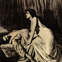 Philip Burne-Jones' The Vampire. From http://en.wikipedia.org/wiki/Image:Burne-Jones-le-Vampire.jpg