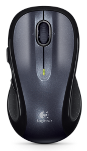 A picture of the Logitech M510 wireless mouse.
